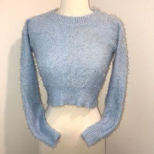 Motel Rocks ☁️SUPER SOFT☁️ Sweater Crop Top